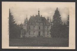 DF / 86 VIENNE / SAINT-PIERRE-DE-MAILLE / LE CHÂTEAU DE MOLANDE - FAÇADE EST - France