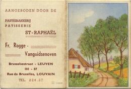 Leuven :  Patisserie  ST. Raphael :  Oude Kalender 1950  ( 12 X 8 Cm ) - Non Classés