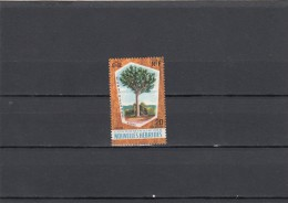 Nueva Hebrides Nº 280 - Leyenda Francesa