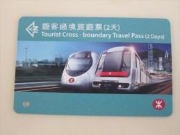 MTR Tourist Cross-Boundary Travel Pass(2 Days) - Hong Kong