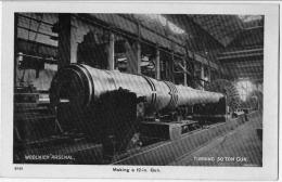 Woolwich Arsenal Making A 12 In Gun 1910  état Superbe - Non Classés