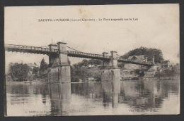 DF / 47 LOT ET GARONNE / SAINTE-LIVRADE / LE PONT SUSPENDU SUR LE LOT - Autres Communes