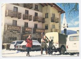 ITALIE SAUZE D'OULX-ALBERGO RISTAURANTE MONT GENEVRIS-RECTO/VERSO-E64 - Italy