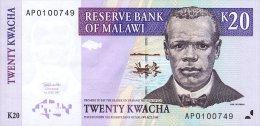 Malawi 20 Kwacha 1997  Pick 38 UNC - Malawi