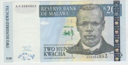 Malawi 200 Kwacha 2003  Pick 47 UNC - Malawi