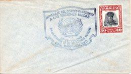 PARAGUAY. Enveloppe Commémorative De 1959. Secrétaire Général Dag Hammarskjöld. - Dag Hammarskjöld