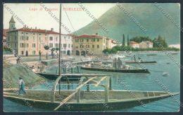 Como Porlezza Barca Cartolina LQ3550 - Como