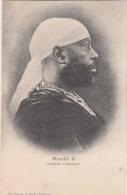 CPA Djibouti Somalis Menelik II Roi Des Rois D Abyssinie - Somalia
