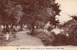 Cpa  1918, JOINVILLE, Un Coin De La Promenade Du  Petit-bois, Enfants Tout De Blanc Vêtus (40.42) - Joinville Le Pont