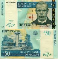 Malawi 50 Kwacha 2005  Pick 53 UNC - Malawi