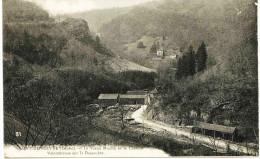 5352 - Doubs - SAINT  HIPPOLYTE  :  Scierie , Moulin Et Chateau  - Valombreuse Sur Le Dessoube   Circulée - Saint Hippolyte