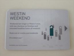 Westin Weekend - Chiavi Elettroniche Di Alberghi