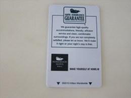 Homewood Suites Hilton - Hotel Keycards