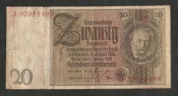 DEUTSCHLAND - Weimarer Republik - 20 Reichsmark (Berlin 1929) - [ 3] 1918-1933 : Repubblica  Di Weimar