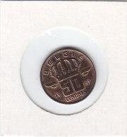 50 CENTIMES Bronze 1981 FL   Qualité++++++++++++++++++ + - 1951-1993: Boudewijn I