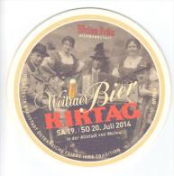 Weitraer Bier Kirtag, Juli 2014, Austria - Bierdeckel