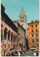 Genova: OLDTIMER TAXI´S FIAT 1400  - Piazza Della Commenda - Italia - Turismo