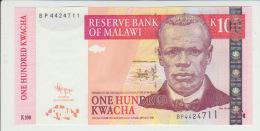 Malawi 100 Kwacha 2009  Pick 54 UNC - Malawi