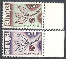 MONACO EUROPA 1965  N� 675/76  NEUF** LUXE