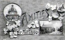 Montaigu : Amitiés De.... (1910) - Belgique