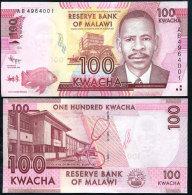 Malawi 100 Kwacha 2012 Pick 59 UNC - Malawi