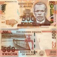 Malawi 500 Kwacha 2012 Pick 61 UNC - Malawi