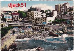 64 - BIARRITZ - La Plage Et Port-Vieux - 1957 - Biarritz