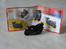 KINDER SPRINTY MOTO NOIRE HONDA FT057A  + BPZ - Montabili