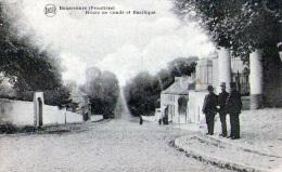 Bonsecours-frontière : Souvenir - Route De Condé Et Basilique (1919) - Belgique