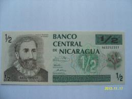 BANCONOTE     NICARAGUA   50 CENTAVOS DE CORDOBA   FIOR DI STAMPA - Nicaragua