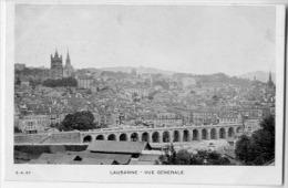 LAUSANNE   VUE GENERALE  CARTE PRECURSEUR AVANT 1904 - VD Vaud