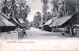 SINGAPORE 1900? - Suburban, Police Station - Singapore