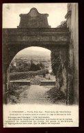 CPA Non écrite 01 PEROUGES Porte D'en Bas Et Panorama De Meximieux - Pérouges