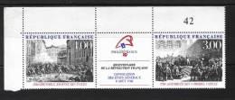France 2538A  Neuf ** (Bicentenaire De La Révolution )  -(cote 3,35€) - France