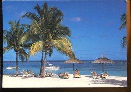 CPM Animée Ile MAURICE MAURITIUS Plage De Flic En Flac - Mauritius