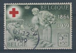 503   Cote 8.00 - Belgium