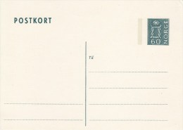 P 141**  Postkort Jetzt Oben Links 60 öre - Postwaardestukken