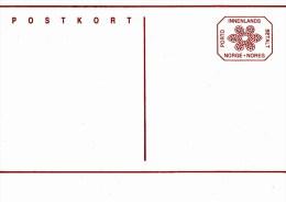 P 186** Postkort  3,00 öre - Achteckiger Wertstempel - Inlandspostkarte - Postwaardestukken