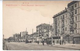 POSTAL     BARCELONA - ESPAÑA -  PASEO NACIONAL DE LA BARCELONETA - Barcelona