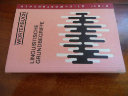 Linguistische Grundbegriffe  (Winfried Ulrich) éditions Ferdinand Hirt De 1975 - Livres Scolaires