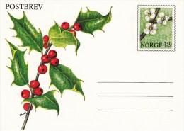 K 53** Postbrev  1,50 öre - Stechpalmenblüten - Postwaardestukken