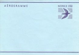 LF 28**  2,2o öre Fliegender Vogel - Aerogramme - Postwaardestukken