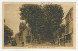 27 - Vernon        Rue De Bizy Et Route D'Evreux - Vernon