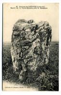 Guérande (44) : Menhir De La Pierre-Blanche, Près De La Madeleine (Saint-Lyphard) - Dolmen & Menhirs