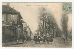 27 - Vernon        Rue De Bizy Et Route D´Evreux - Vernon