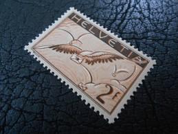 CH ZNr.13z  2Fr.** Flugpost - Taube Wolken 1935 - Ger.Papier - Nuevos