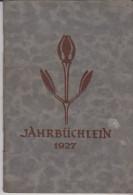 Jahrbüchlein 1927 - Calendars