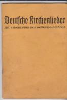 Kleine Heft Deutsche Kirchenlieder 1936 - Christianisme