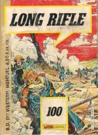 Long Rifle N° 100 - Editions Aventures Et Voyages - Mensuel - Avec Scotty - Le Crotale Et Kerry - Mai 1986 - BE - Petit Format