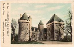 """Carte Sur Les Châteaux Du Périgord, LE CLAUD,  Collect. De La Solution """"pautauberge"""" (40.72) - Châteaux"""